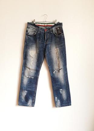 Джинсы флиги рваные kingz jeans