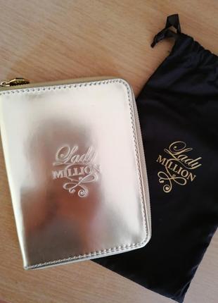 Стильный кошелек-блокнот комплект