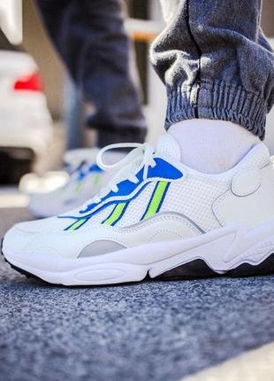 Кроссовки мужские adidas ozweego, белые, адидас озвиго, кросівки