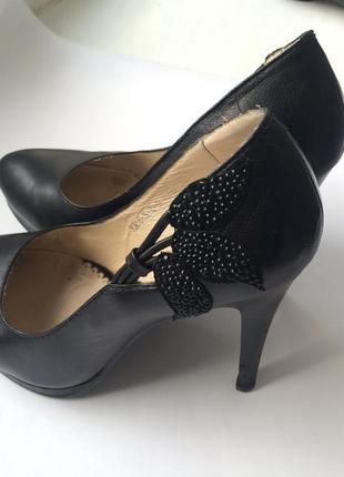 Кожаные туфли geronea, р.36-36,5_
