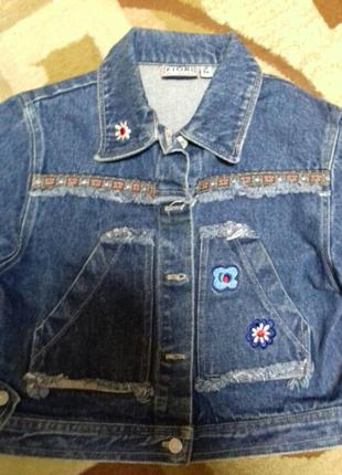 Класная джинсовая куртка7 фото