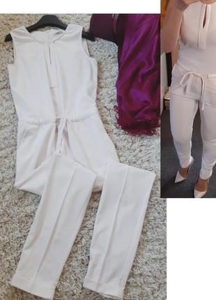 Шикарный комбинезон с брюками в пудровом цвете/mavi, p.