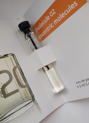 Очень стойкий мини-парфюм molecule escentric 02 унисекс