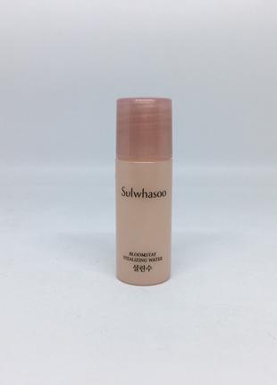 Тонер с антиоксидантами sulwhasoo bloomstay vitalizing water корейская косметика люкс