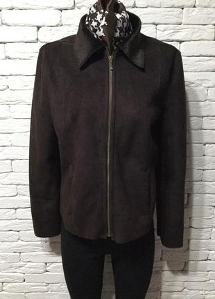 Куртка, искусственный замш