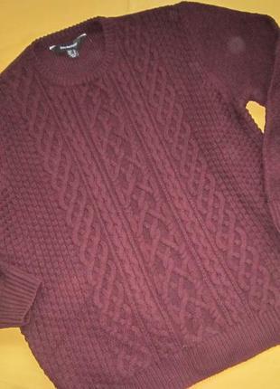 Тёплый красивый свитер cedar wood state,р.xl,отличное состояние