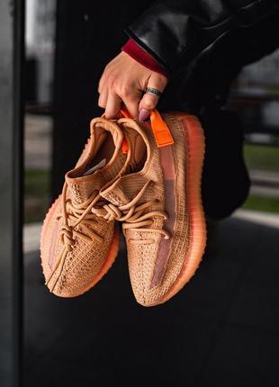 Adidas yeezy boost 350 clay ♦ мужские кроссовки ♦ весна лето осень