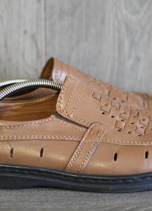 Удобные  туфли из натуральной кожи enrico mori 44-45