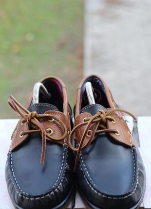 Кожаные туфли, мокасины daniel hechter 40-41