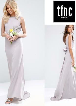 Изысканное платье в пол tfnc uk8/eu36