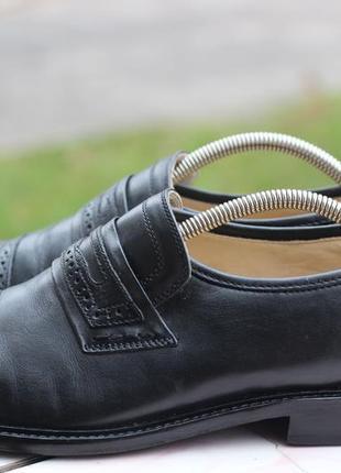 Статусные кожаные туфли, оксфорды kugelferse bioflex 42-43