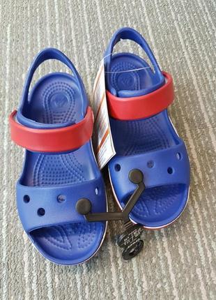 Крокс сандали crocs bayaband sandal cerulean blue