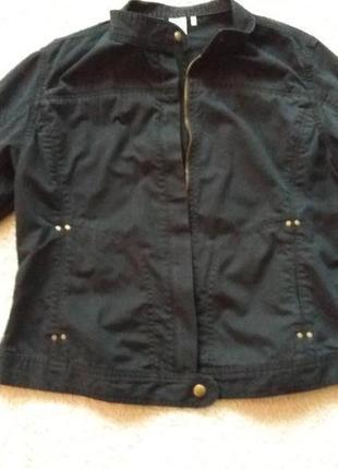 Котоновая куртка пиджак