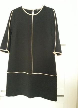 Черное,прямое платье