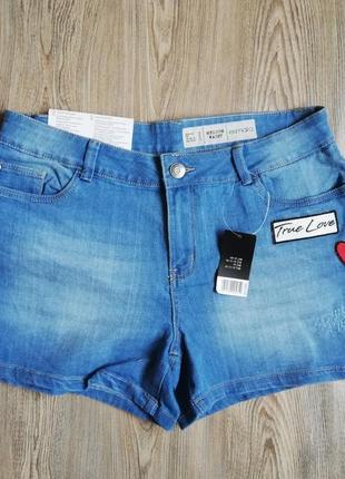 Женские джинсовые шорты esmara 40