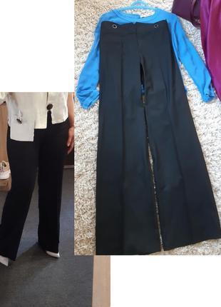 Базовые черные широкие брюки/палацо, cop copine, p. 38-40