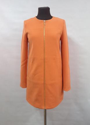 Яркое пальтишко, пиджак, на подкладке, only размер s/m