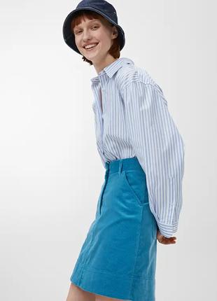 Вельветовая юбка arket