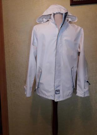 Куртка ветровка непродуваемая, непромокаемая с пропиткой breizh marine