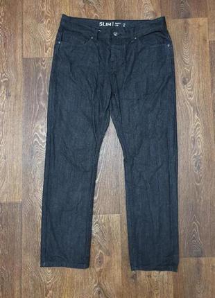 Стильные мужские джинсы denim co 100% коттон