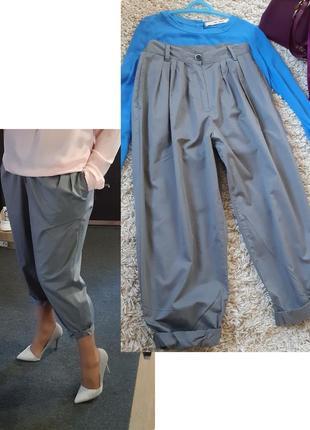 Мега стильные укороченные брюки, benetton,  p. 38/40