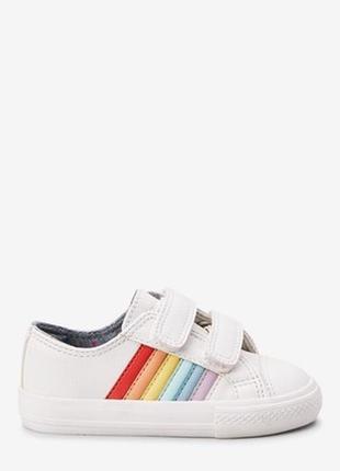 Яркие и стильные кроссовки для девочки next (некст)