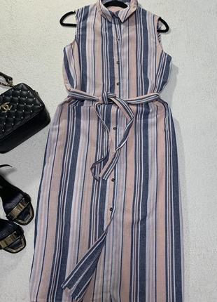 Стильное платье-рубашка,размер l