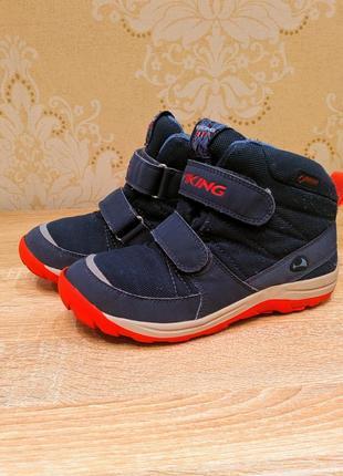 Демисезонные ботинки для мальчика viking, 33 размера, 20,5 см стелька