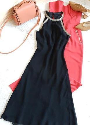 Брендовое платье из натурального шёлка.