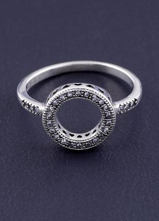 Кольцо 'style' фианит серебро(925)