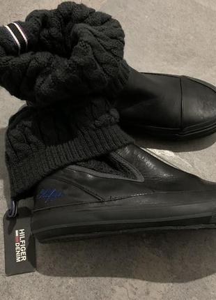 Сапоги ботинки tommy hilfiger