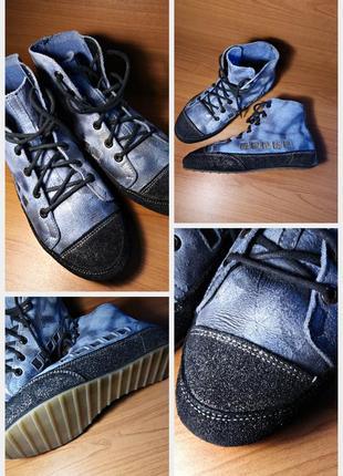 Распродажа🔴🔴удобные швейцарские кеды/кроссовки/хайтопы/ботинки künzli оригинал кожа🔴🔴