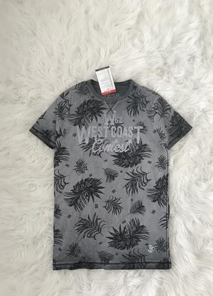 Стильная футболка we оригинал тропические листья нидерланды 🇳🇱