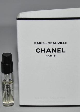 Paris – deauville chanel для мужчин и женщин (пробник)