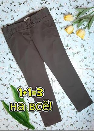 🎁1+1=3 фирменные прямые джинсы с низкой посадкой с брючном стиле topshop, размер 48 - 50