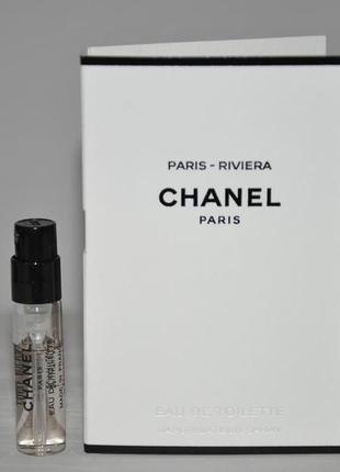 Chanel paris riviera (пробник)