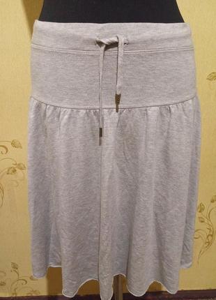 Отличная трикотажная юбка l.o.g.g. h&m