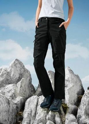 Качественные женские треккинговые штаны 2-в-1 crivit.размер евро 46