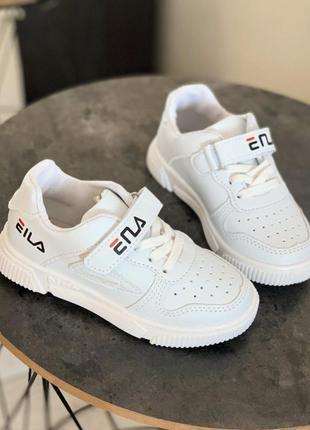Белые кроссовки, кеды
