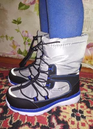 Сапожки ботинки термо