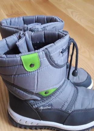 Зимние ботинки cortina, стелька 19 см