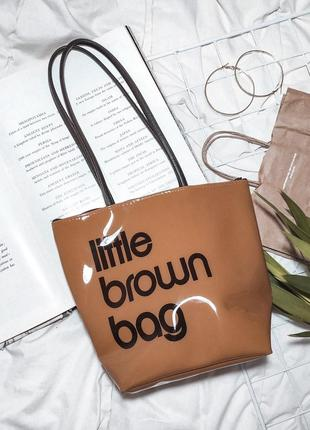 Сумка шопер little brown bag