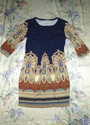 Платье в турецкий принт размер м
