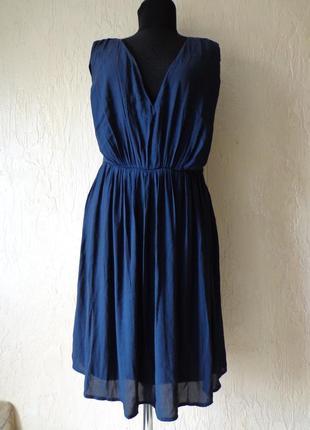 Плаття, платье only з глибоким вирізом, розмір 40 (48)
