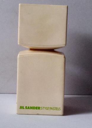Jil sander style pastels soft yellow 5 мл пробник.