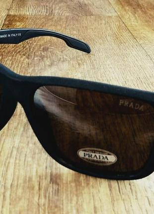 Мужчкие очки prada солнцезащитные поляризированые