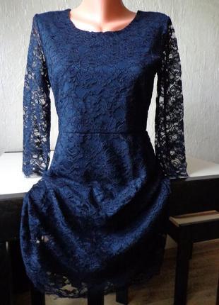 Плаття, платье only з мереживом, розмір 38/40