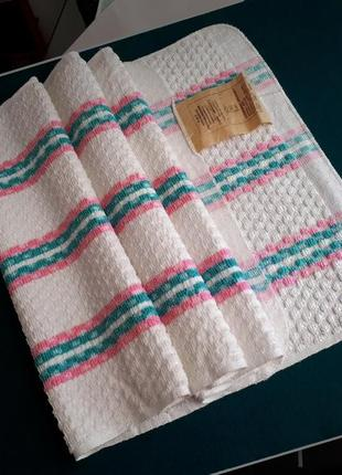 Махровое хлопковое полотенце - гост ссср 37х92 новое
