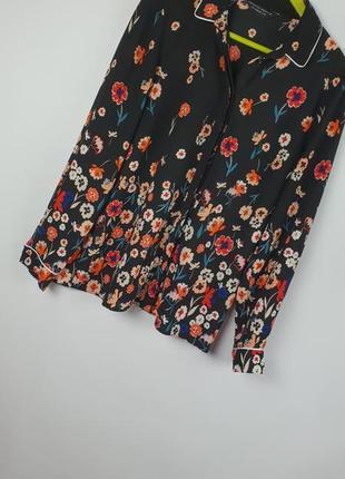 Рубашка в цветочный принт пижамного стиля  dorothy perkins p40/l.