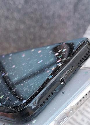 Чехол бампер глиттер для apple iphone 11